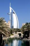 迪拜jumeirah madinat 免版税库存照片
