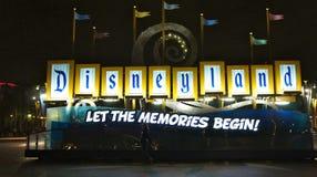 迪斯尼乐园主要符号 库存照片