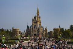 迪斯尼乐园城堡 免版税库存图片