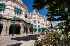 迪斯尼乐园旅馆在巴黎 库存照片