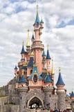 迪斯尼乐园巴黎城堡 库存图片