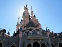 迪斯尼乐园巴黎睡美人城堡 库存图片