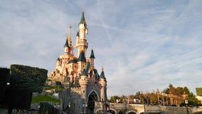迪斯尼乐园巴黎Castle公主 库存照片