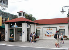 迪斯尼假期俱乐部,好莱坞演播室,奥兰多, FL 免版税库存照片