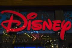 迪斯尼商店在伦敦 库存照片