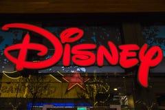 迪斯尼商店在伦敦 库存图片