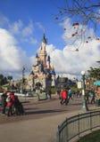 迪斯尼土地,巴黎,欧洲 免版税库存照片