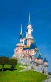 迪斯尼城堡迪斯尼乐园巴黎 免版税库存照片