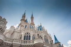 迪斯尼城堡 免版税库存图片