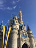 迪斯尼城堡 免版税图库摄影