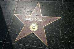 迪斯尼星形walt 免版税库存图片