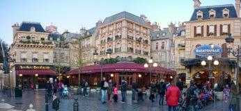 迪斯尼演播室巴黎, Ratatouille 免版税图库摄影