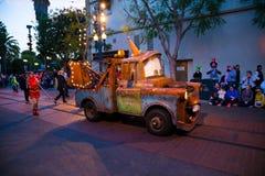 迪斯尼皮克斯游行加利福尼亚冒险 库存图片