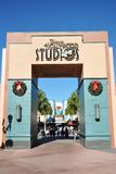 迪斯尼门好莱坞工作室 免版税库存图片