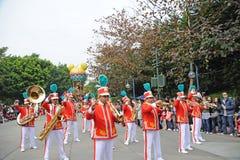 迪斯尼香港游行 免版税库存照片
