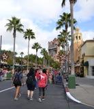 迪斯尼` s好莱坞演播室 免版税库存照片