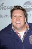 迪斯尼ABC电视小组夏天2010新闻游览的Nate Torrence,贝弗利希尔顿饭店,比佛利山, CA. 08-01-10 库存照片