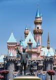 迪斯尼mickey对walt的纪念碑鼠标 免版税库存照片