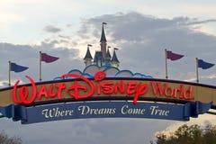 迪斯尼walt世界 免版税库存照片