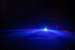 迪斯科光展示,阶段光 库存图片