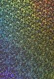 迪斯科地板全息照相的抽象背景 库存照片