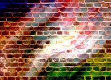 迪斯科墙壁 免版税库存图片