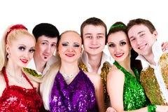 迪斯科舞蹈家队 库存照片