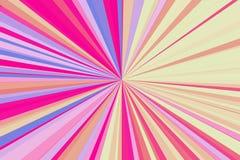 迪斯科点燃抽象光芒背景 五颜六色的条纹射线样式 时髦的例证现代趋向颜色 免版税图库摄影