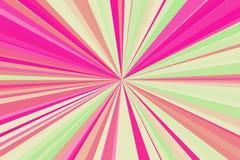 迪斯科点燃抽象光芒背景 五颜六色的条纹射线样式 时髦的例证现代趋向颜色 免版税库存图片