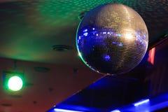 迪斯科球光反射背景 库存图片