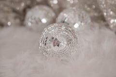 迪斯科球用于装饰美好的屋子 库存照片