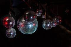 迪斯科镜子球 免版税库存照片