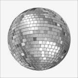 迪斯科Mirrorball传染媒介版本 免版税库存照片