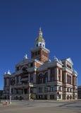 迪比克县法院大楼Dubuque衣阿华 库存图片