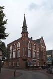 迪福尔茨老城镇厅在下萨克森州,德国 免版税库存照片