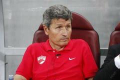 迪纳莫队布加勒斯特Steaua布加勒斯特 免版税库存图片