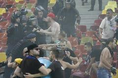 迪纳莫队布加勒斯特Steaua布加勒斯特 图库摄影
