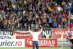 迪纳莫队布加勒斯特Steaua布加勒斯特 免版税库存照片