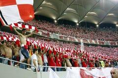 迪纳莫队布加勒斯特Steaua布加勒斯特 库存照片