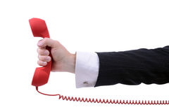 迫切电话 免版税库存图片