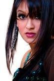 迷人的印第安妇女 库存图片