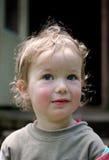 迷人的孩子惊奇了 免版税库存照片