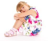 迷人的小女孩 免版税库存图片