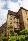 迷人的法国建筑学 免版税库存照片
