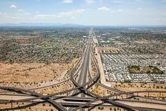 迷信高速公路 库存照片