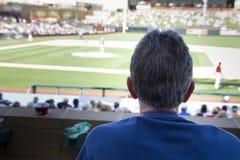 MLB仙人掌同盟春训比赛风扇 免版税库存照片