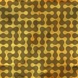 迷宫。无缝的样式。 免版税图库摄影