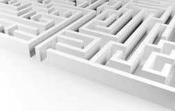 迷宫背景 免版税图库摄影