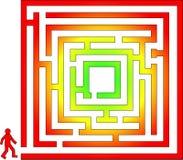 迷宫 免版税库存图片