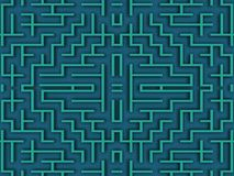 迷宫 向量例证